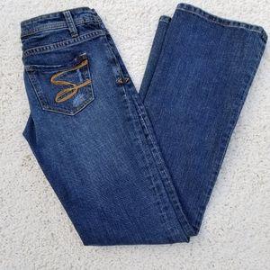 SEVEN7 Women's Jeans Flare medium wash size 25